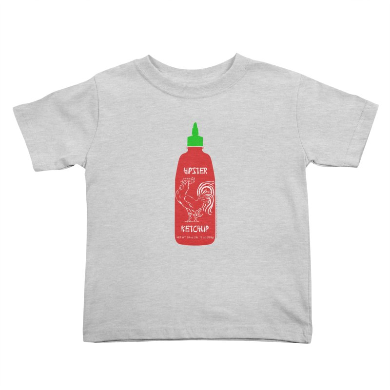 Hipster Ketchup Kids Toddler T-Shirt by sundaydrivedesigns's Artist Shop