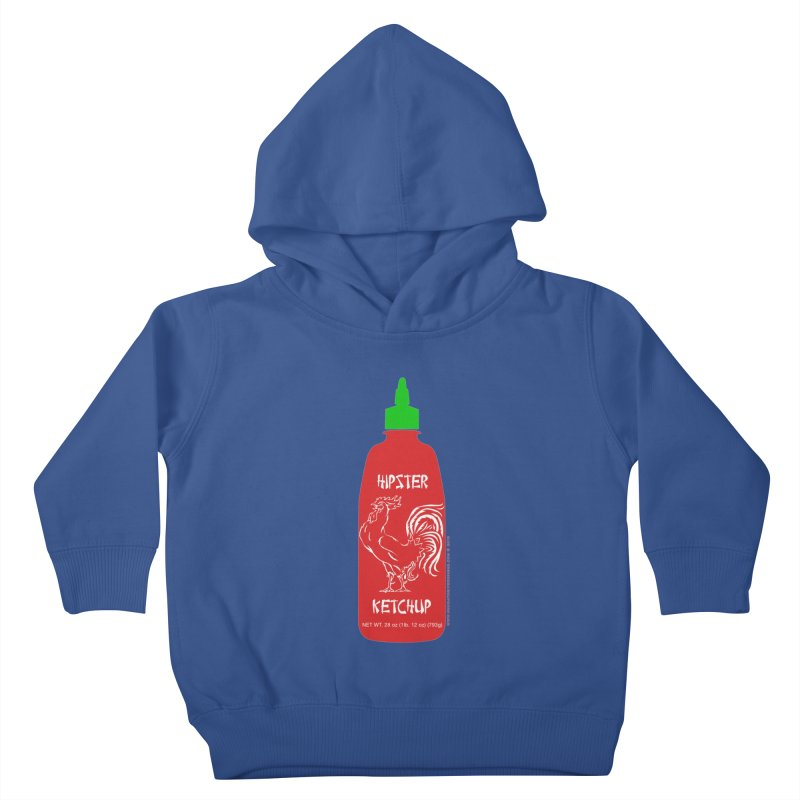 Hipster Ketchup Kids Toddler Pullover Hoody by sundaydrivedesigns's Artist Shop