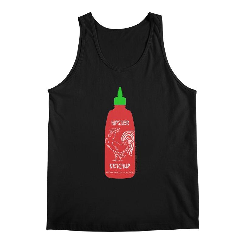 Hipster Ketchup Men's Regular Tank by sundaydrivedesigns's Artist Shop