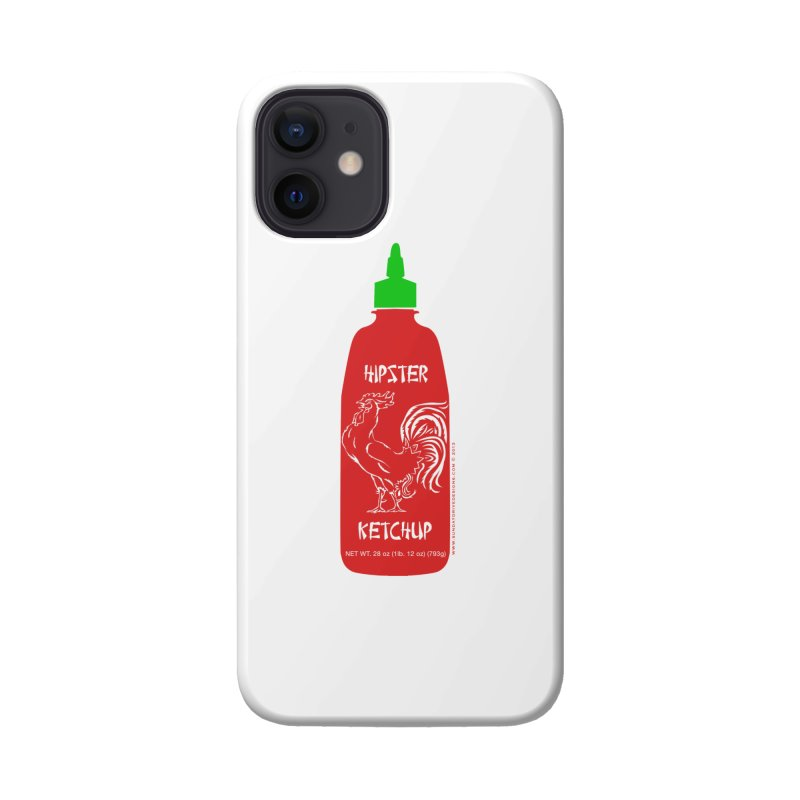 Hipster Ketchup Accessories Phone Case by sundaydrivedesigns's Artist Shop