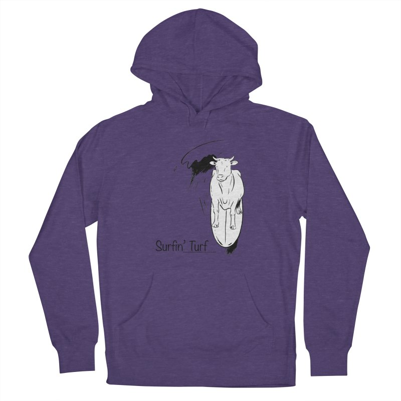 Surfin' Turf Women's Pullover Hoody by sundaydrivedesigns's Artist Shop