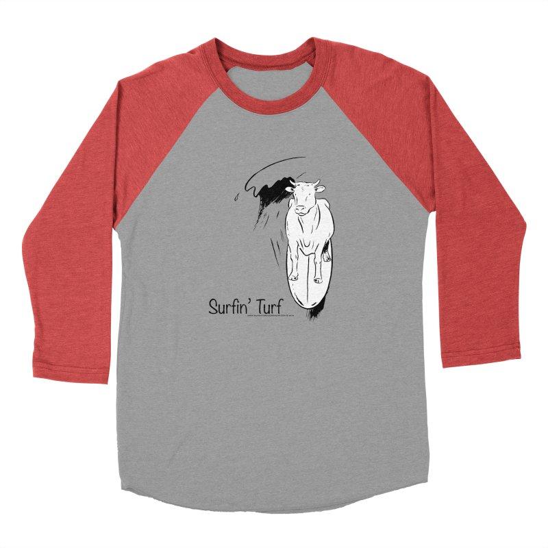 Surfin' Turf Men's Baseball Triblend Longsleeve T-Shirt by sundaydrivedesigns's Artist Shop