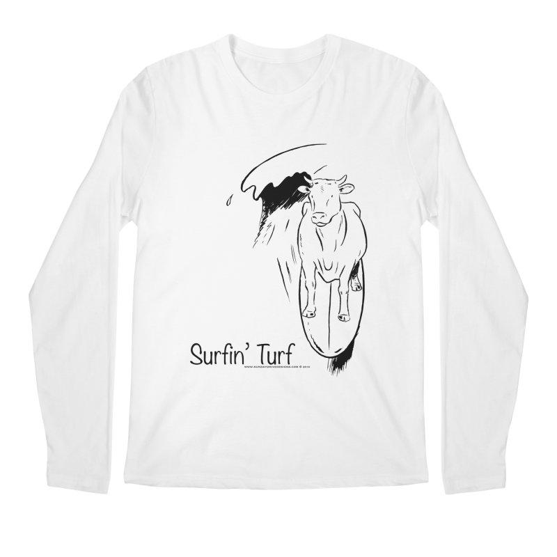 Surfin' Turf Men's Regular Longsleeve T-Shirt by sundaydrivedesigns's Artist Shop