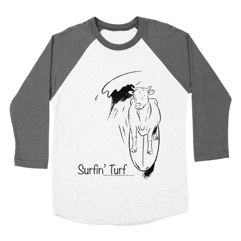 Surfin' Turf Women's Longsleeve T-Shirt by sundaydrivedesigns's Artist Shop