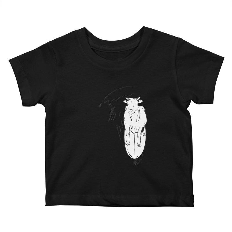 Surfin' Turf Kids Baby T-Shirt by sundaydrivedesigns's Artist Shop