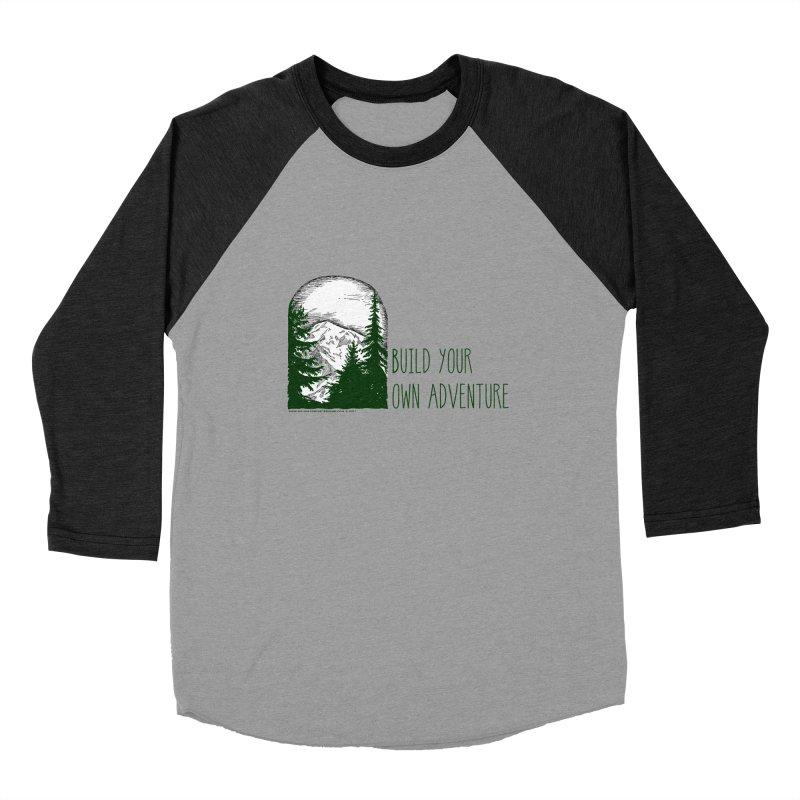 Build Your Own Adventure Men's Baseball Triblend Longsleeve T-Shirt by sundaydrivedesigns's Artist Shop