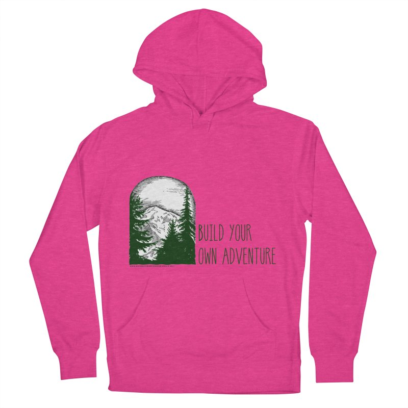 Build Your Own Adventure Men's French Terry Pullover Hoody by sundaydrivedesigns's Artist Shop