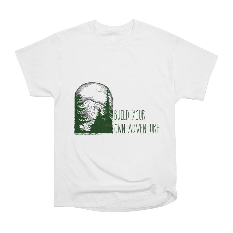 Build Your Own Adventure Women's Heavyweight Unisex T-Shirt by sundaydrivedesigns's Artist Shop