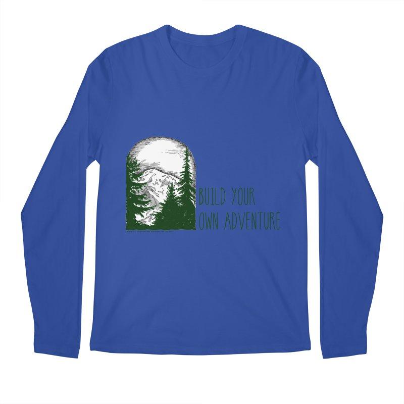 Build Your Own Adventure Men's Regular Longsleeve T-Shirt by sundaydrivedesigns's Artist Shop