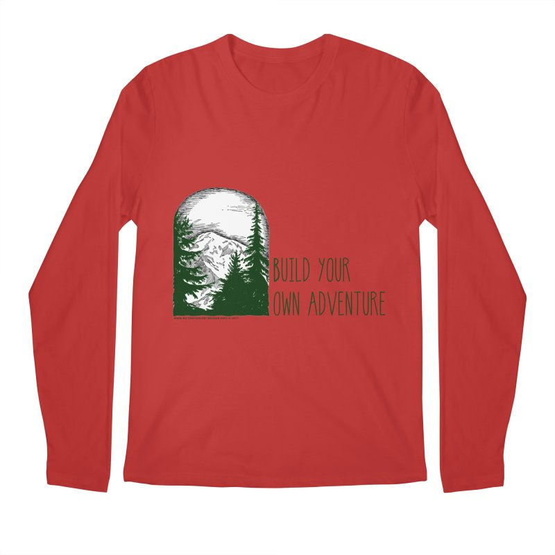 Build Your Own Adventure Men's Regular Longsleeve T-Shirt by sundaydrivedesigns's Artist Shop