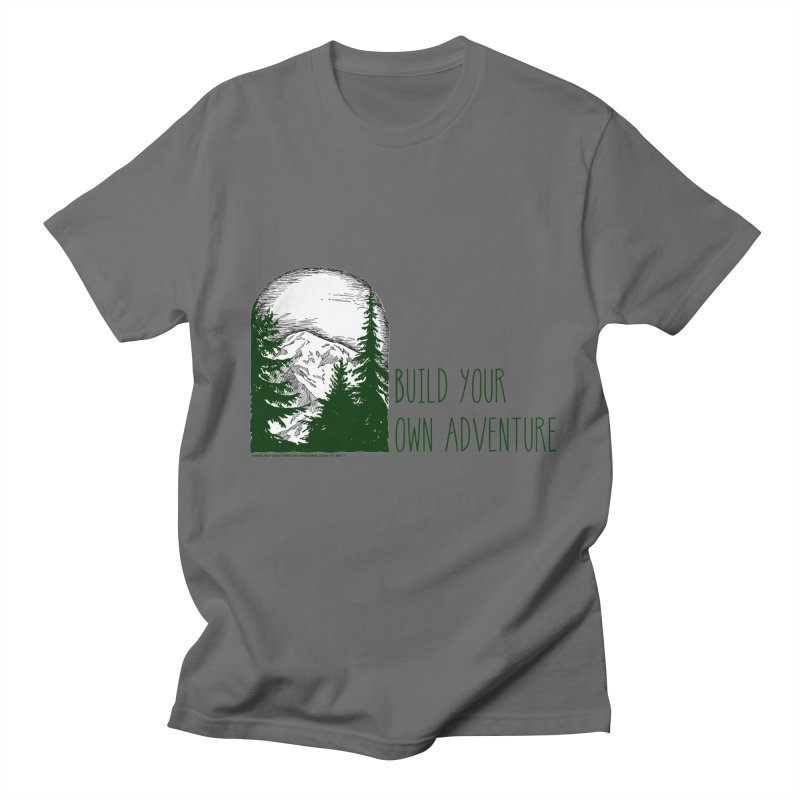 Build Your Own Adventure Men's T-Shirt by sundaydrivedesigns's Artist Shop