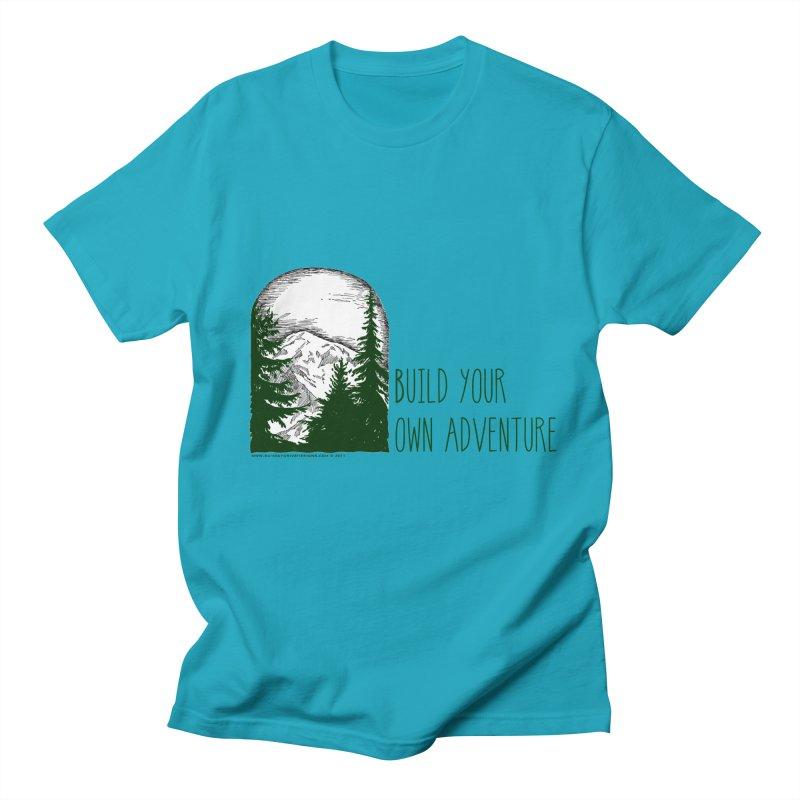 Build Your Own Adventure Men's Regular T-Shirt by sundaydrivedesigns's Artist Shop