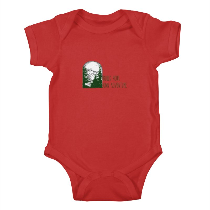 Build Your Own Adventure Kids Baby Bodysuit by sundaydrivedesigns's Artist Shop