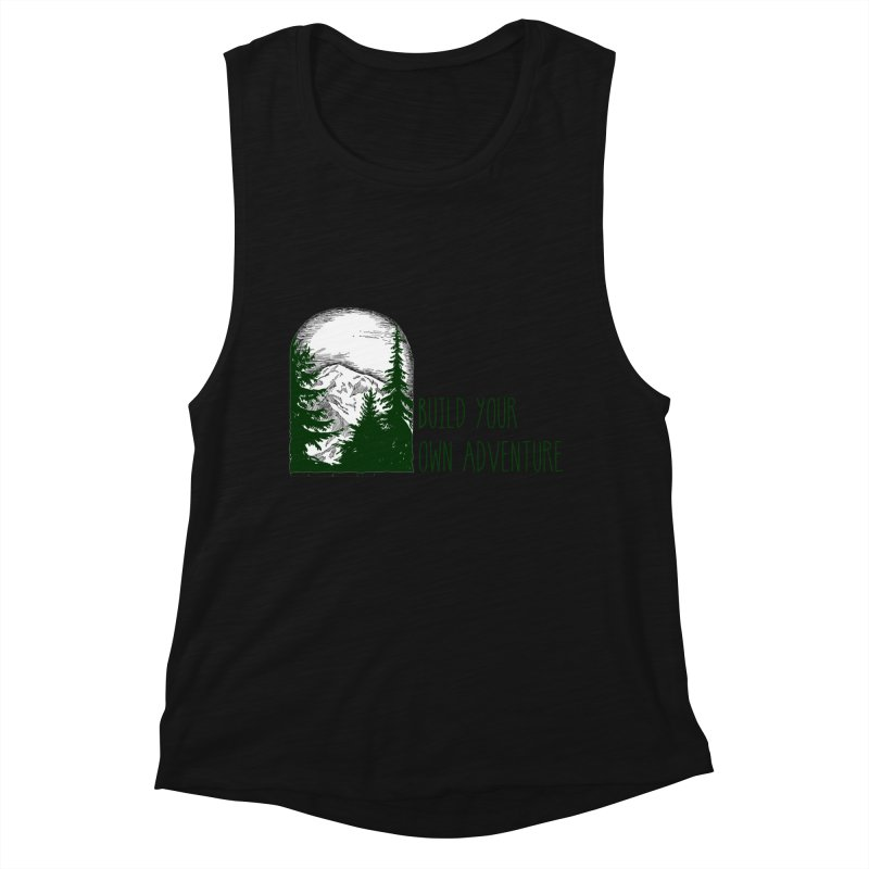 Build Your Own Adventure Women's Tank by sundaydrivedesigns's Artist Shop