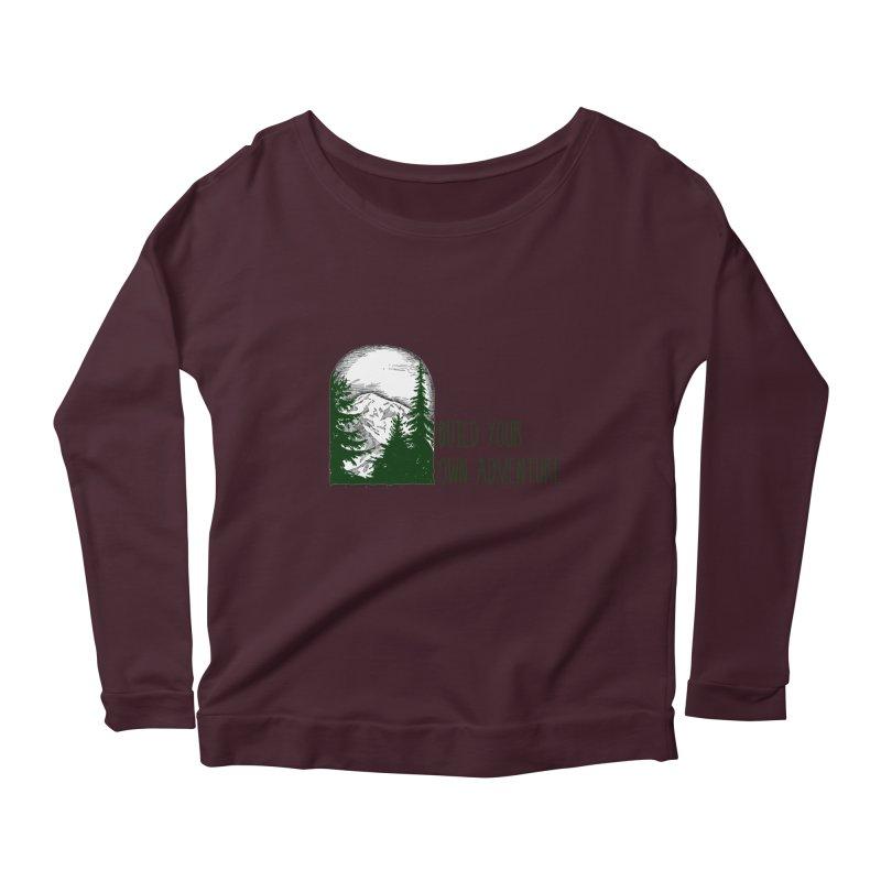 Build Your Own Adventure Women's Longsleeve T-Shirt by sundaydrivedesigns's Artist Shop