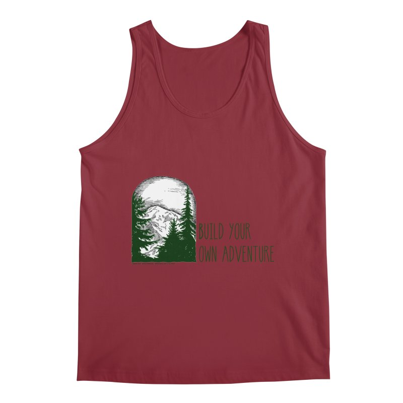 Build Your Own Adventure Men's Tank by sundaydrivedesigns's Artist Shop