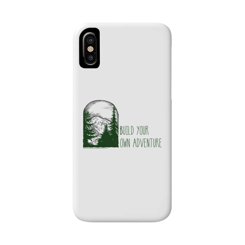 Build Your Own Adventure Accessories Phone Case by sundaydrivedesigns's Artist Shop