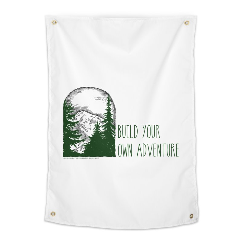 Build Your Own Adventure Home Tapestry by sundaydrivedesigns's Artist Shop