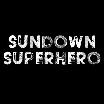 Sundown Superhero Shop Logo