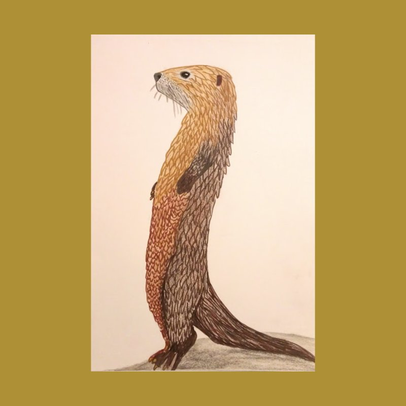 Otter Sentinel by Whimsical Wildlife Wares