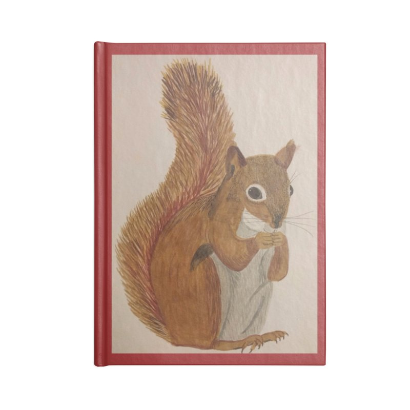 Squirrel Accessories Notebook by Whimsical Wildlife Wares