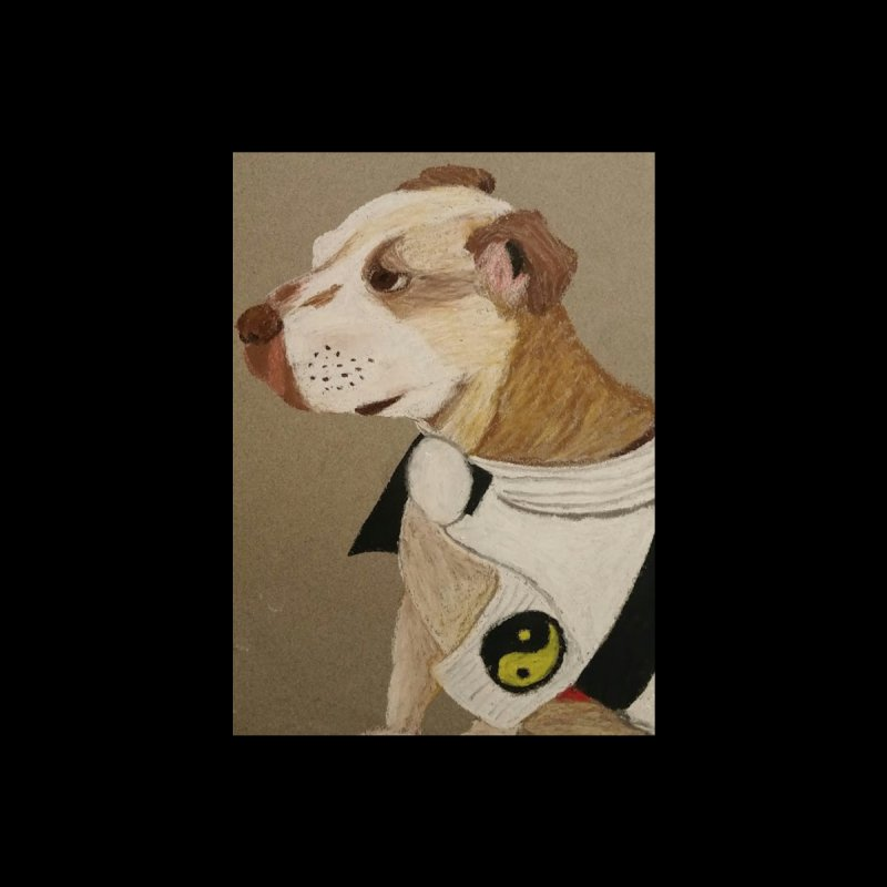 Martial Arts Pit Bull by Whimsical Wildlife Wares