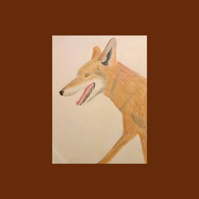 Red Wolf by Whimsical Wildlife Wares