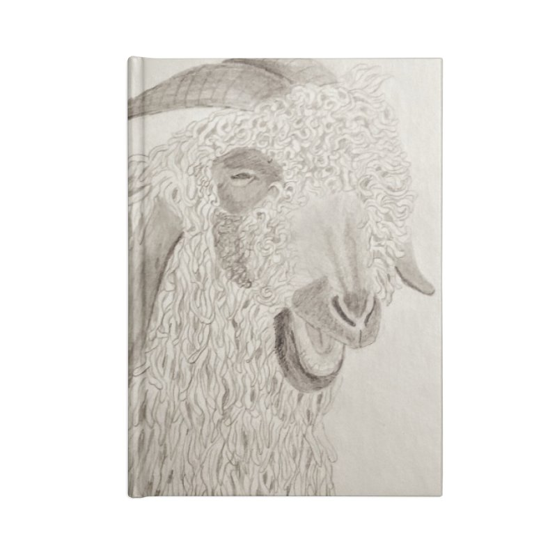Angora Goat Accessories Notebook by Whimsical Wildlife Wares