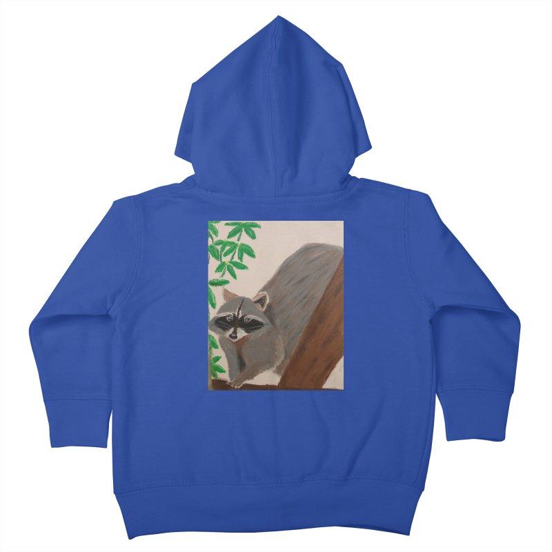 Raccoon Kids Toddler Zip-Up Hoody by Whimsical Wildlife Wares