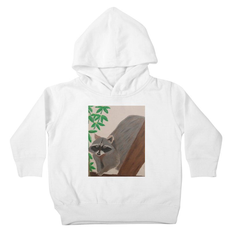Raccoon Kids Toddler Pullover Hoody by Whimsical Wildlife Wares