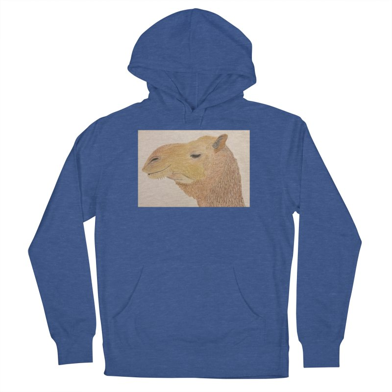 Camel Women's Pullover Hoody by Whimsical Wildlife Wares