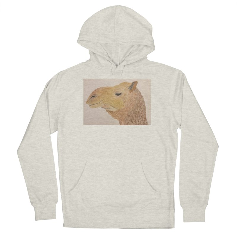 Camel Men's Pullover Hoody by Whimsical Wildlife Wares