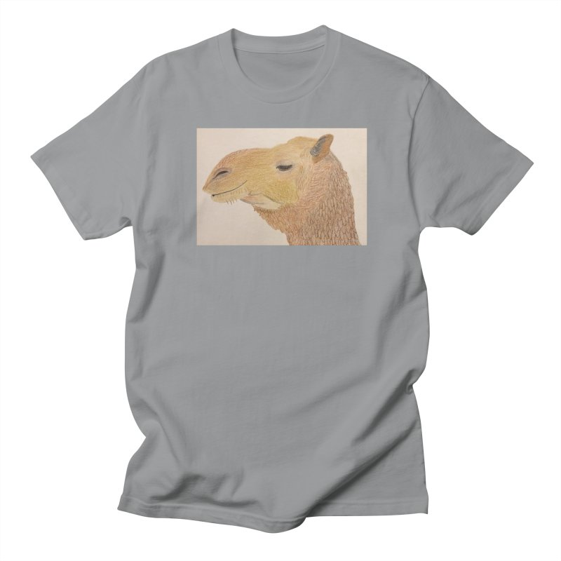 Camel Women's Unisex T-Shirt by Whimsical Wildlife Wares