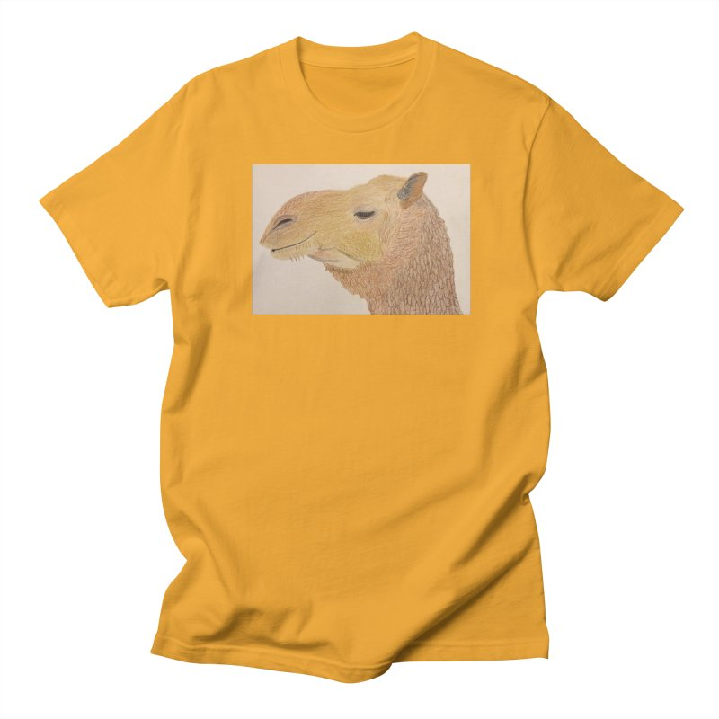 Camel Men's T-shirt by Whimsical Wildlife Wares