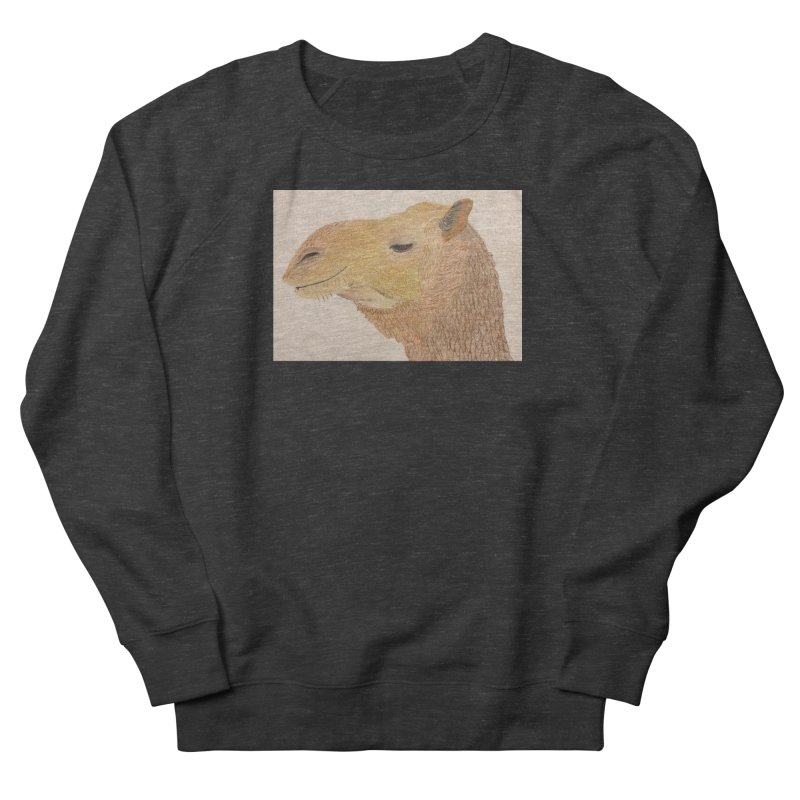 Camel Women's Sweatshirt by Whimsical Wildlife Wares