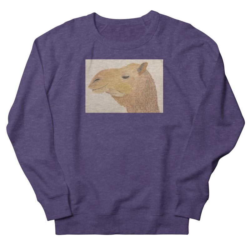 Camel Men's Sweatshirt by Whimsical Wildlife Wares