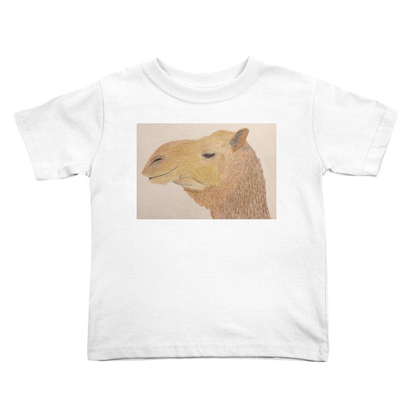 Camel Kids Toddler T-Shirt by Whimsical Wildlife Wares
