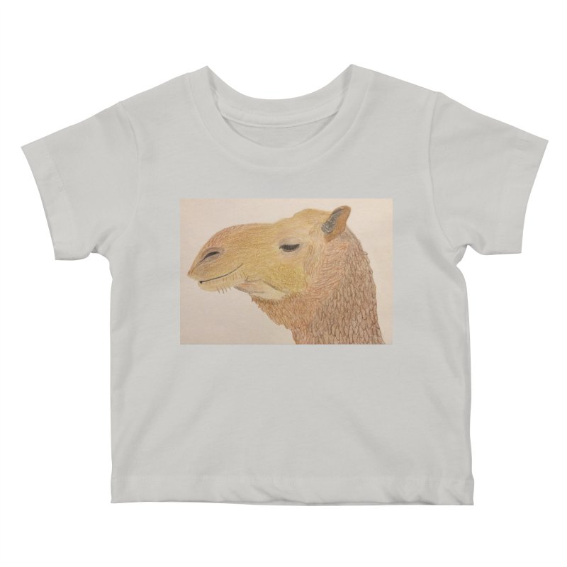 Camel Kids Baby T-Shirt by Whimsical Wildlife Wares