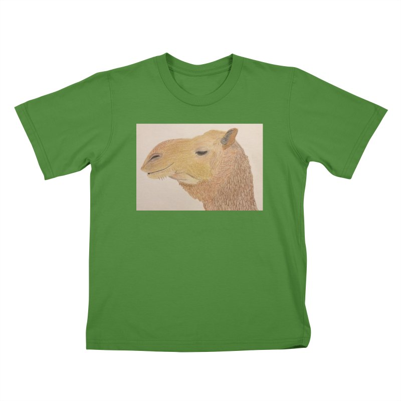 Camel Kids T-shirt by Whimsical Wildlife Wares