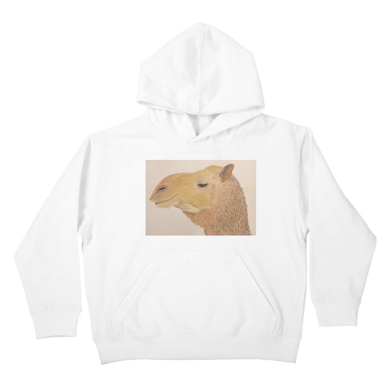 Camel Kids Pullover Hoody by Whimsical Wildlife Wares