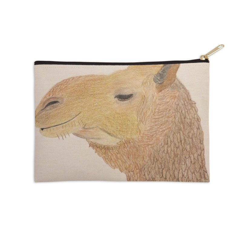 Camel Accessories Zip Pouch by Whimsical Wildlife Wares