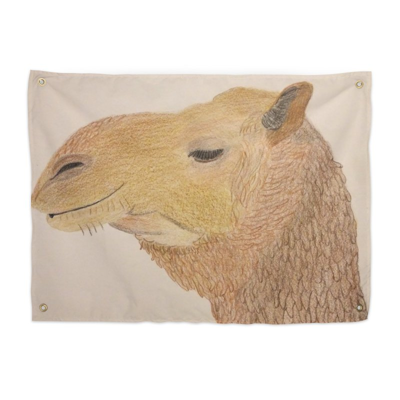 Camel Home Tapestry by Whimsical Wildlife Wares
