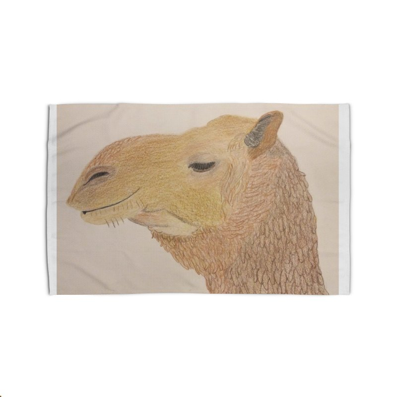 Camel Home Rug by Whimsical Wildlife Wares
