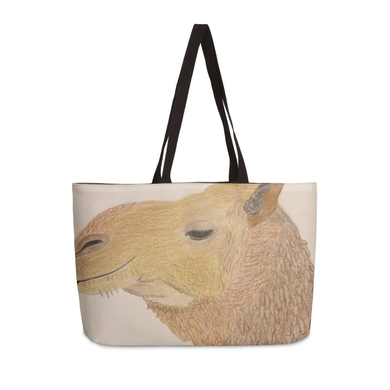 Camel Accessories Bag by Whimsical Wildlife Wares
