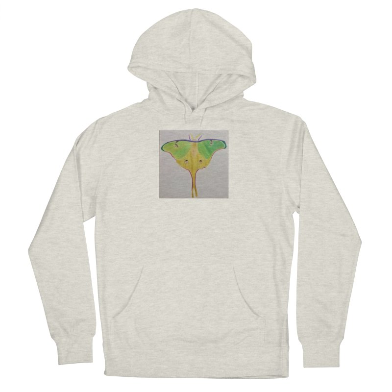 Luna Moth Women's Pullover Hoody by Whimsical Wildlife Wares