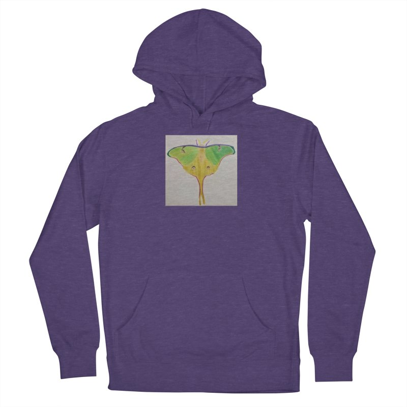 Luna Moth Men's Pullover Hoody by Whimsical Wildlife Wares
