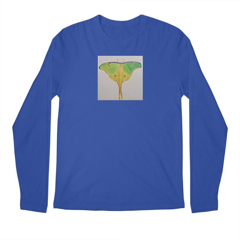 Luna Moth Men's Longsleeve T-Shirt by Whimsical Wildlife Wares