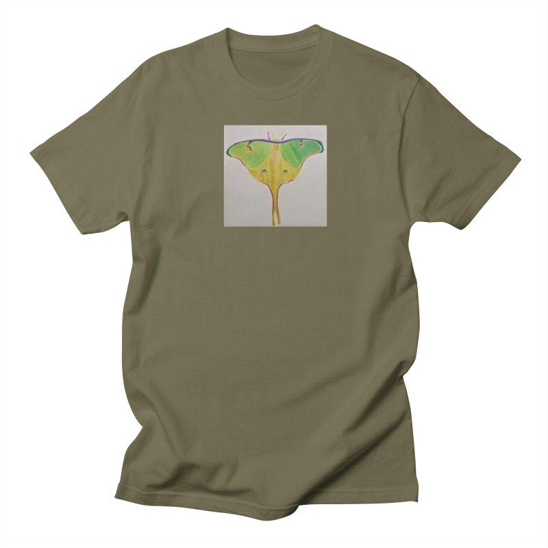 Luna Moth Men's T-shirt by Whimsical Wildlife Wares