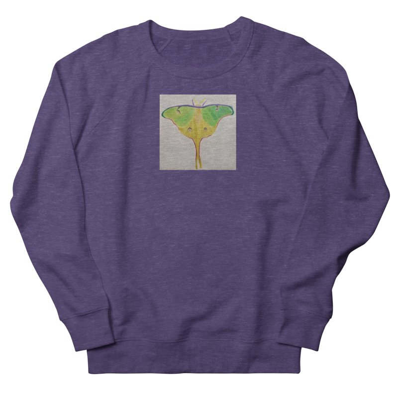 Luna Moth Women's Sweatshirt by Whimsical Wildlife Wares