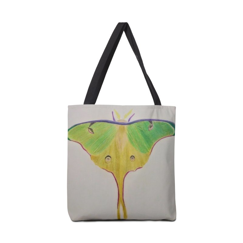 Luna Moth Accessories Bag by Whimsical Wildlife Wares